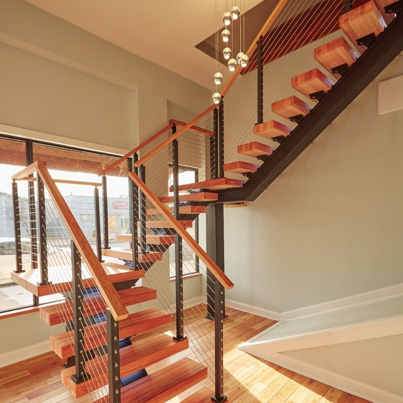 Enhance Your Space With Floating Stairs